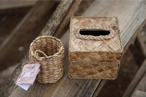 Bengok Craft - Home Decor Small Box ( Circle )